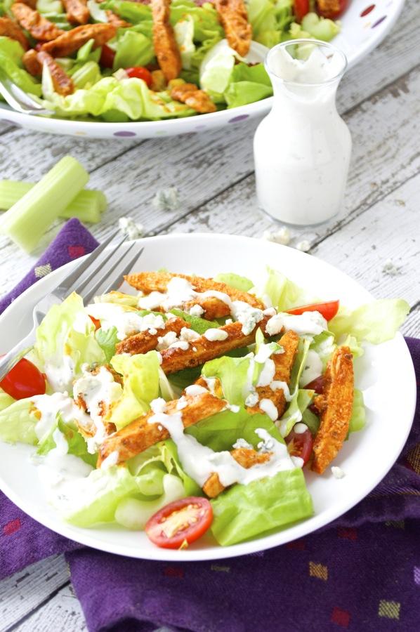 Buffalo Chicken Salad Plate