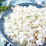 Herb Buttered Popcorn