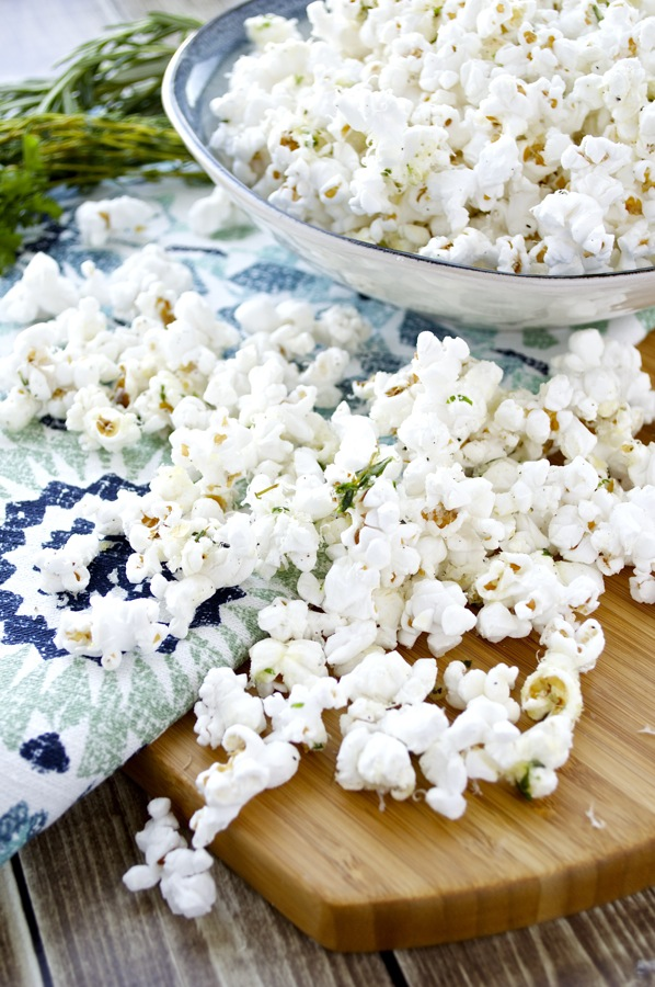 Herbed Buttered Popcorn