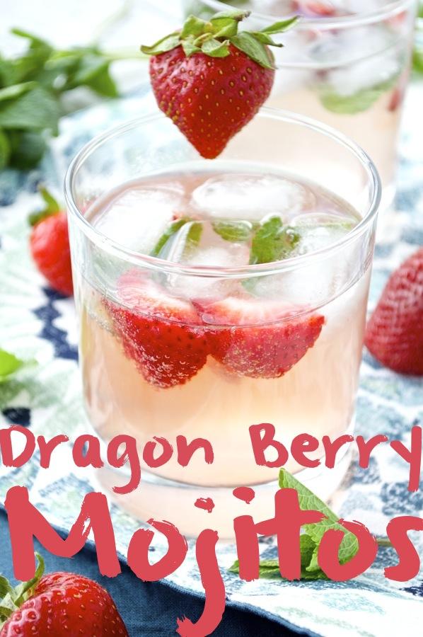 Dragon Berry Mojitos