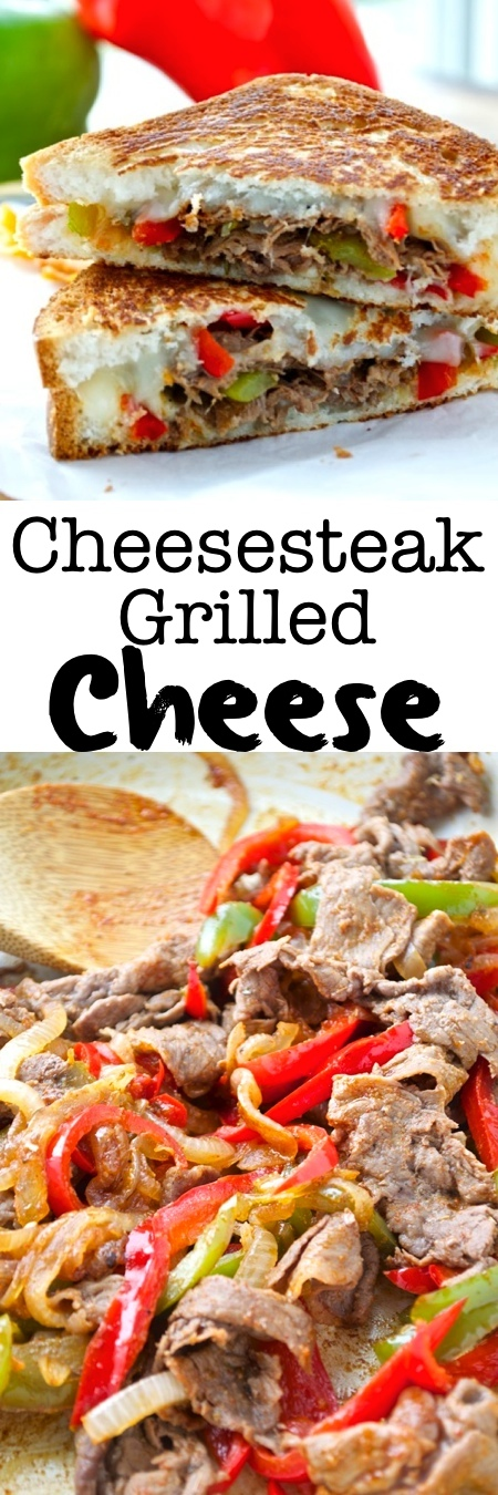 Cheesesteak Grilled Cheese Pin