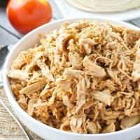 5 Ingredient Shredded Chipotle Chicken