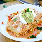 Creamy Vegetable Enchiladas