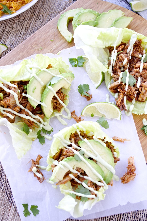 Chipotle Pork Lettuce Wraps