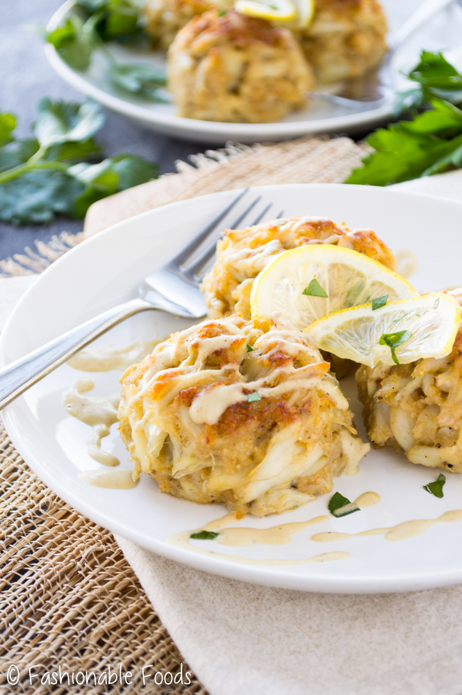 Crab Cakes with Creamy Dijon Sauce