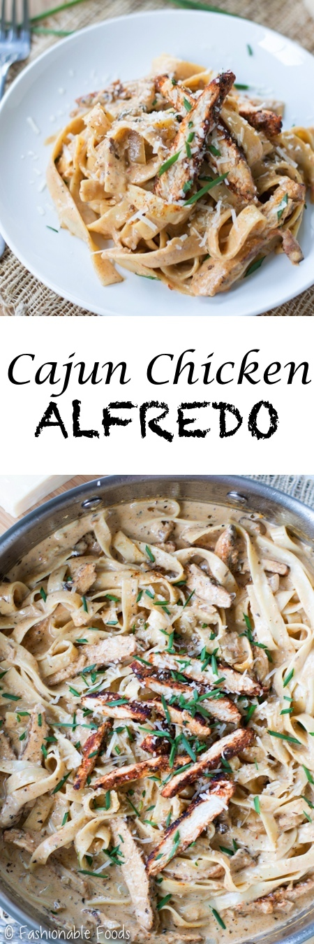 Cajun Chicken Alfredo Pin