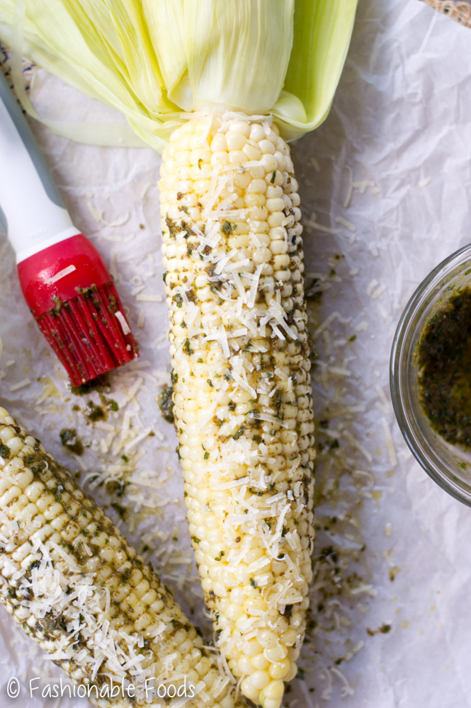 corn-with-pesto-butter