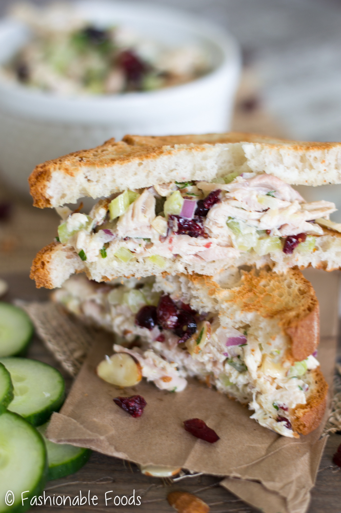 turkey-cranberry-and-almond-salad-sandwich