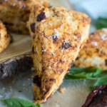 Sun-Dried Tomato Basil Scones