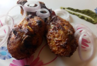 Cheesy Zaffran Chicken Tandoori