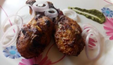 Cheesy Zaffran Chicken Tandoori