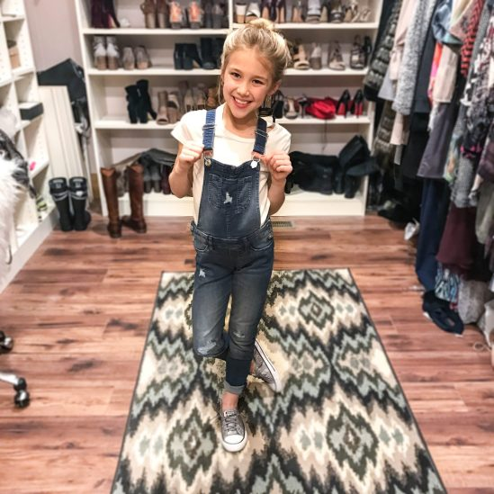 Kids overalls and converse style