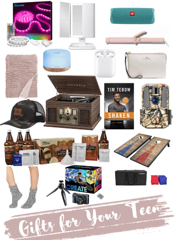 Fun Gift Ideas for Teens featured by top Pittsburgh lifestyle blog, Fashionably Late Mom