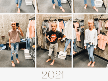 Nordstrom Anniversary Sale 2021: Try On Edition featured by top Pittsburgh fashion blogger, Fashionably Late Mom
