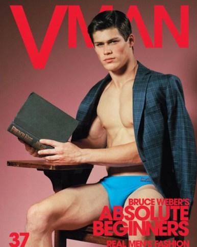 Jacob Hankin for VMAN #37