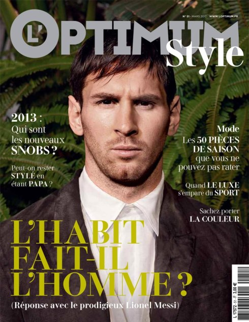 Messi shot by Domenico Dolce