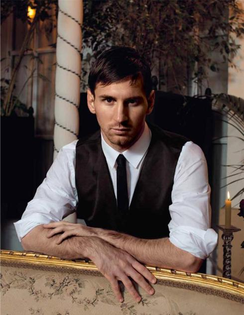 Messi shot by Domenico Dolce2