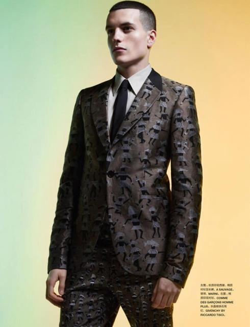 TY & HARIS SEOUDY for NUMERO HOMME CHINA2