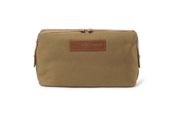 WANT Les Essentiels de la Vie Kenyatta Leather-Trimmed Organic Tote Bag