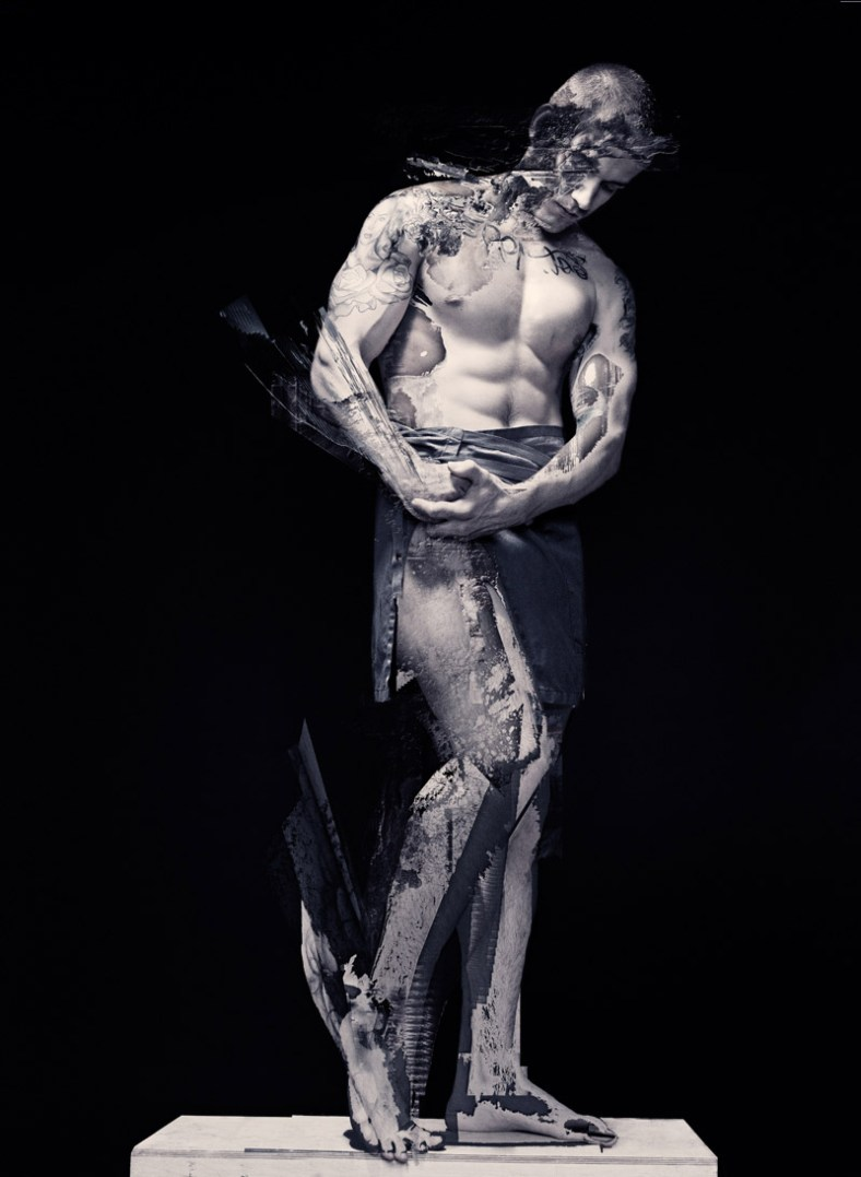 Statuesque Fashionably Male