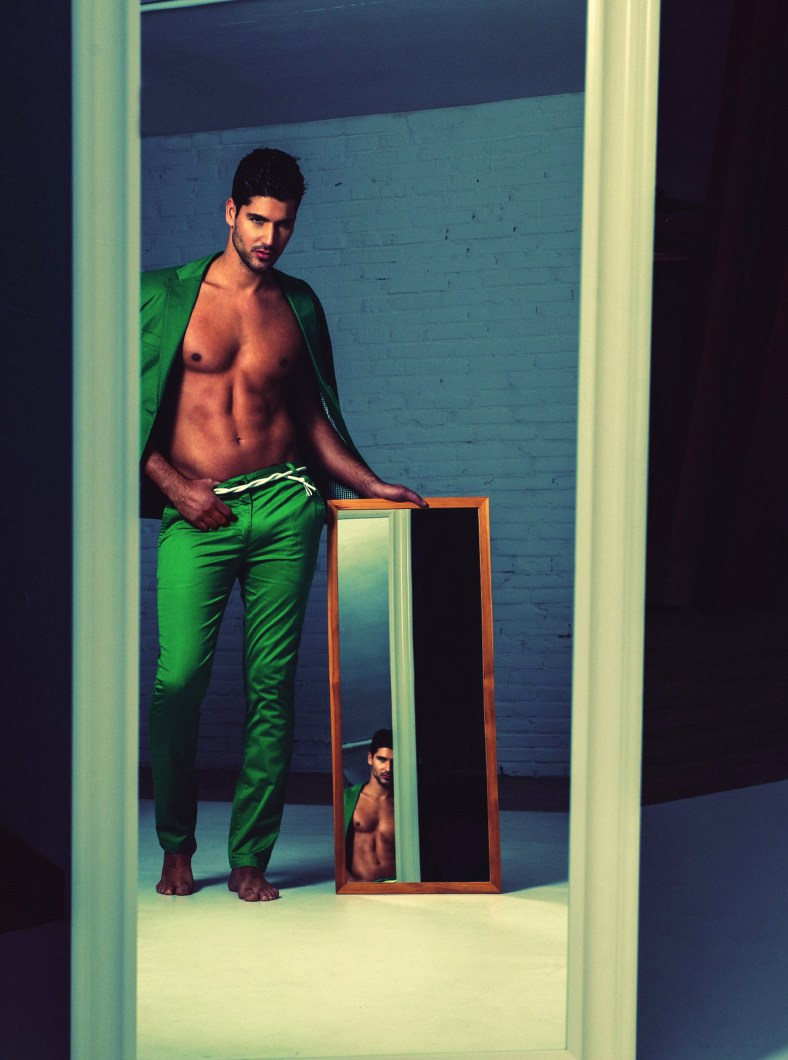 Man In The Mirror Adon 8 Fashionably Male