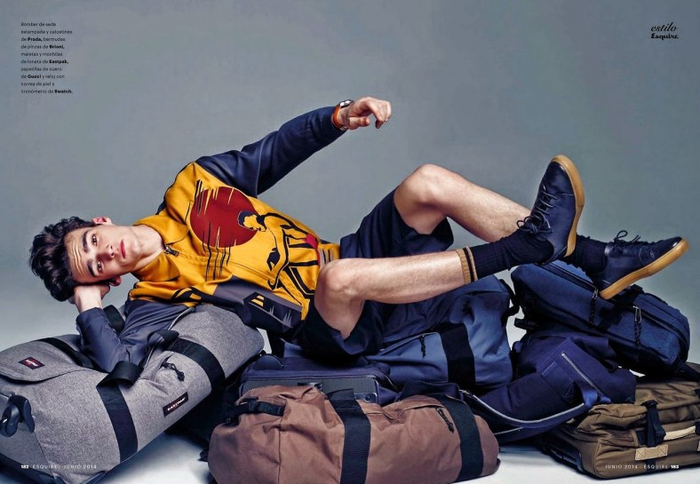 """""""HIT THE ROAD, JACK"""" ELLIOT VULLIOD FOR ESQUIRE SPAIN BY MARCIN TYSZKA.11"""