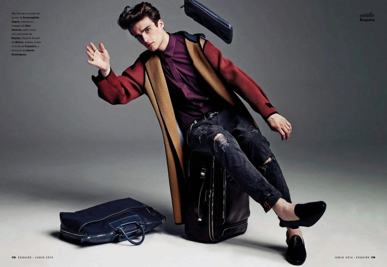 """""""HIT THE ROAD, JACK"""" ELLIOT VULLIOD FOR ESQUIRE SPAIN BY MARCIN TYSZKA.4"""