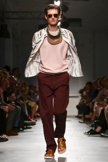 MSGM Menswear Collection Spring Summer 2015 in Milan