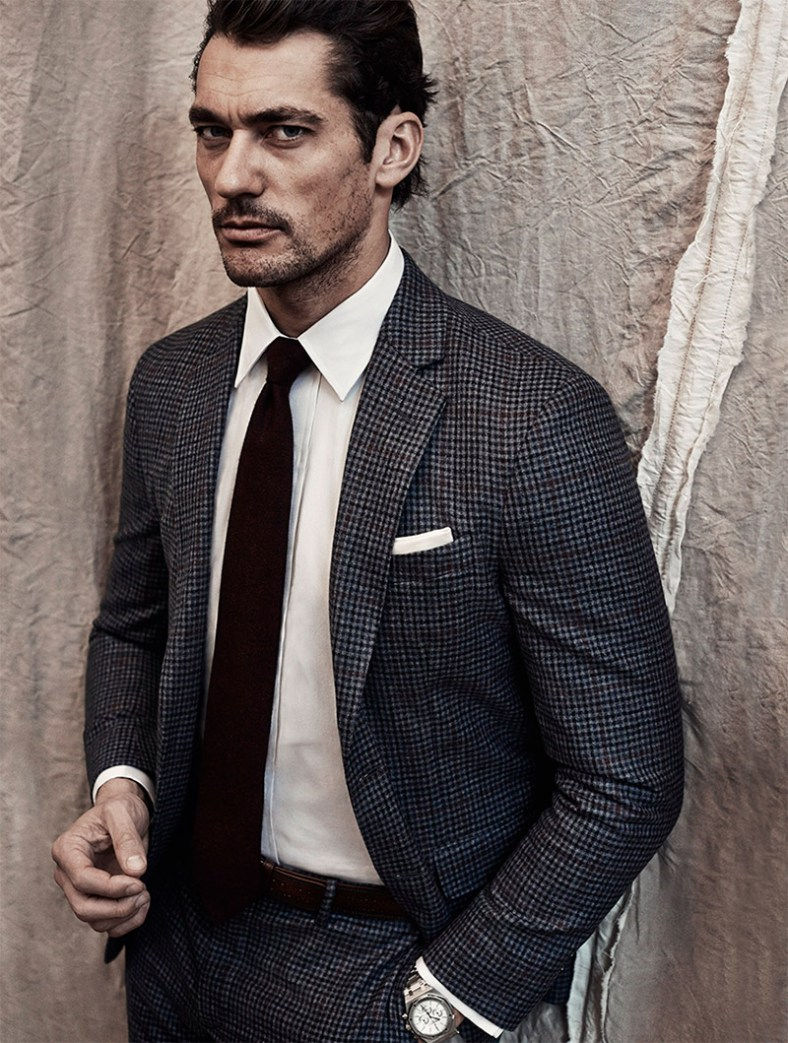 David Gandy by Roger Rich for Glass Magazine