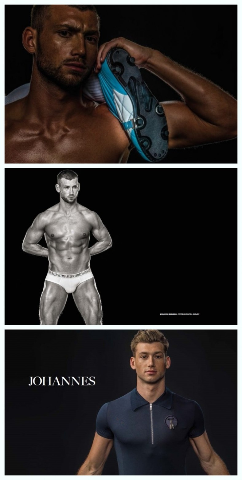 MCFIT MODELS FEATURED IN 'DIRK BIKKEMBERGS: 25 YEARS OF ATHLETES AND FASHION'