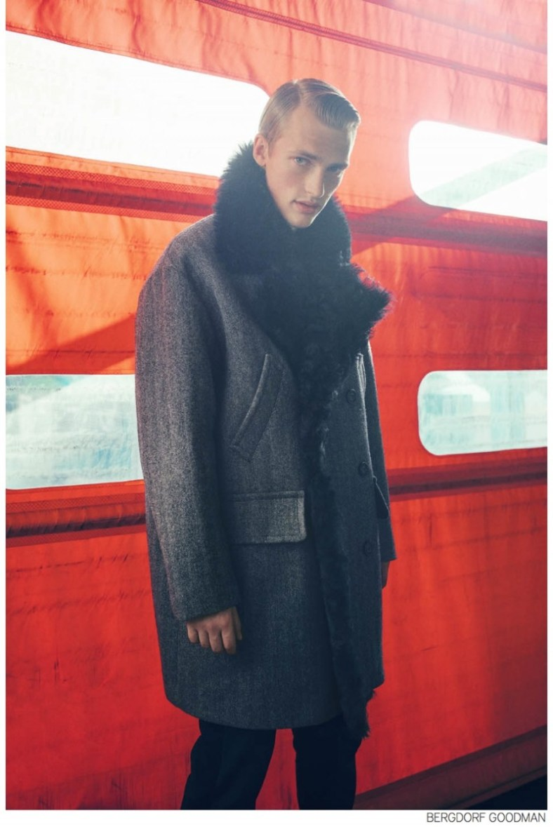 Bergdorf Goodman Highlights Fall 2014 Menswear Collections