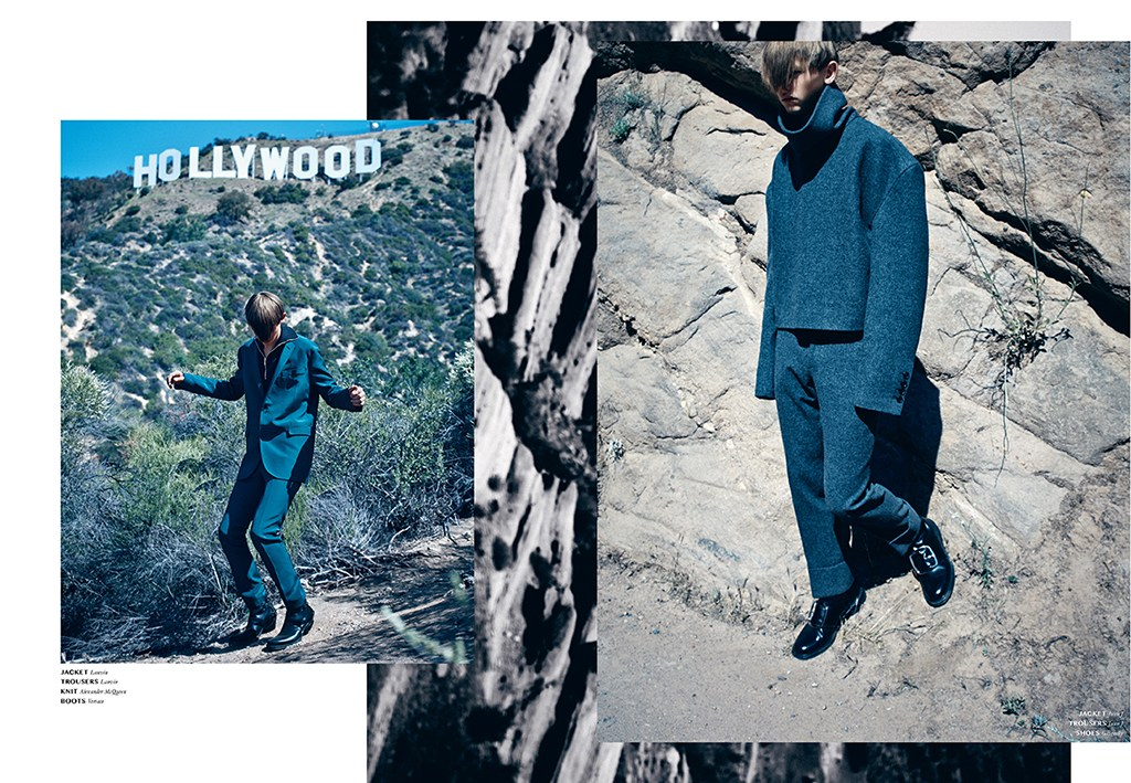 'FRANKIE GOES TO HOLLYWOOD' Model: Robbie McKinnon Photographer: Lowe H. Seger