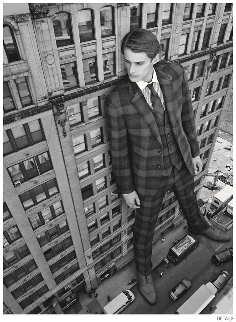 Details Checks Fall 2014 Suiting