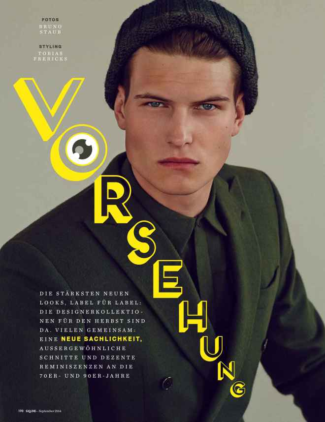 VORSEHUNG | GQ Germany September 2014
