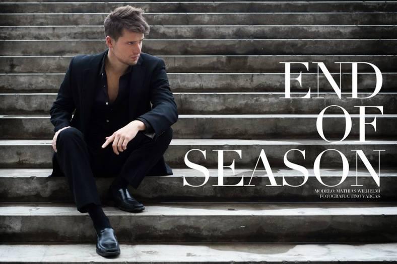 """::modelbook : Mathias Wilhelmi - """"End of Season"""""""