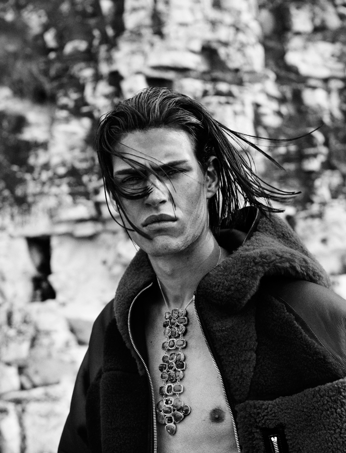Louren Groenewald and John Todd at Success Models captured by the lens of Paul Scala and styled by Jonathan Ailwood, for the latest issue of Manuscript magazine.