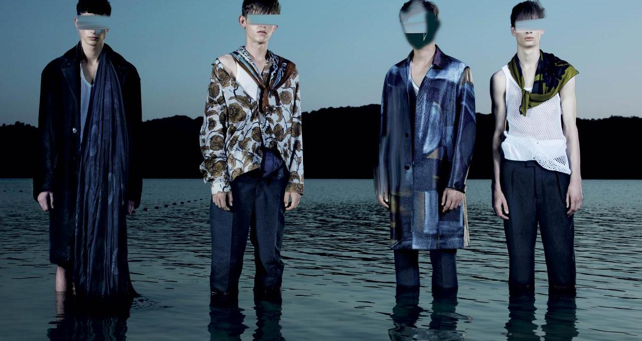 VMan #32 F/W 14.15 Submergence Photographer: Pierre Debusschere Styling: Tom Van Dorpe