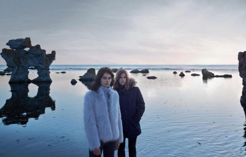 Text: Andrea Servert   Photo: Xevi Muntané   Styling: Elena Gisbert & Alberto Murtra Fårö Island, in Sweden, was the place of inspiration and residency, as well as filming set, of mythic film director Ingmar Bergman. The AW 2014/2015 campaign, shot in a place like that, had to count for sure with a character who knew well the magic of the place. Swedish model Malcolm Lindberg is a newcomer in fashion world, but his sharp features –and a hair that many would kill for– make sure he'll have a brilliant future.