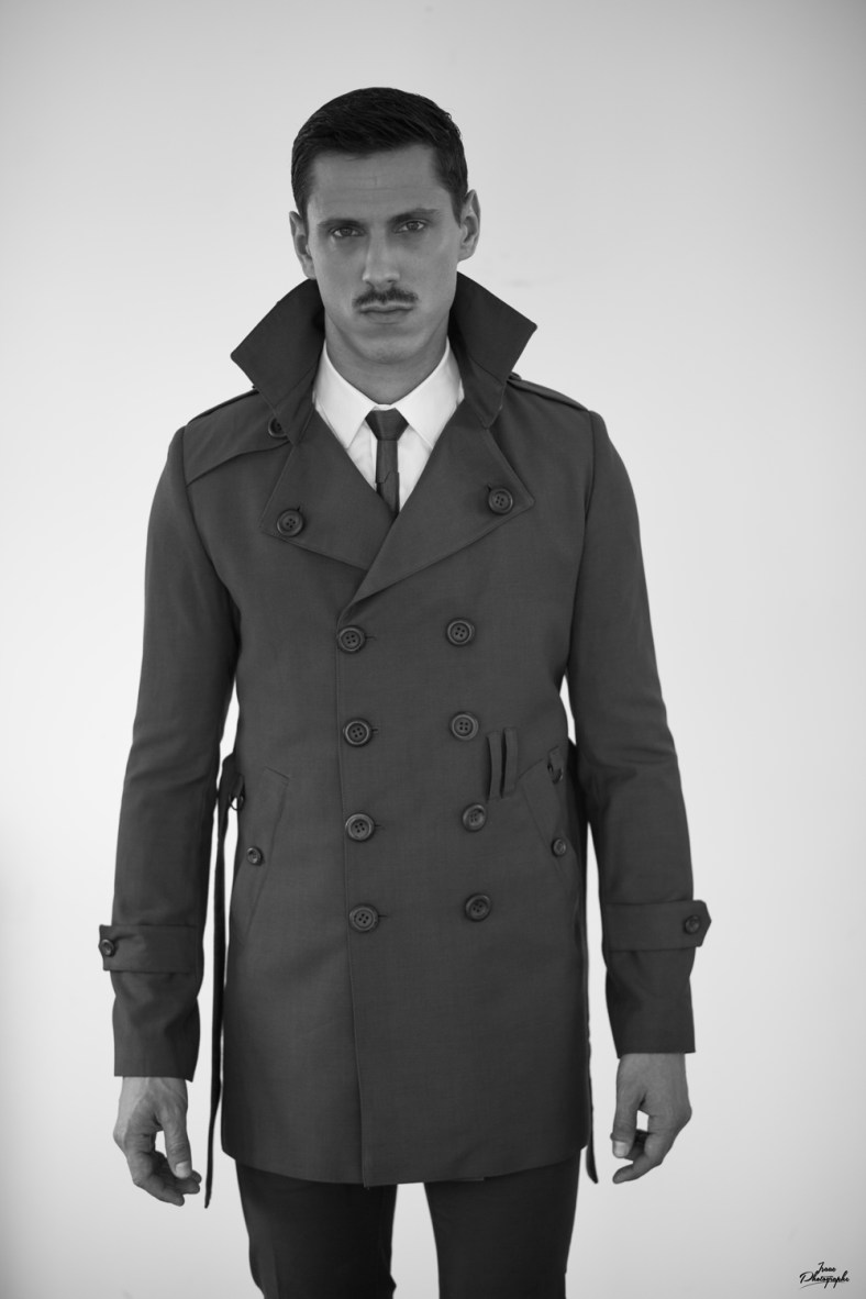 Trench Coat : OTHY – BY – OTHMAN Tie : OTHY – BY – OTHMAN