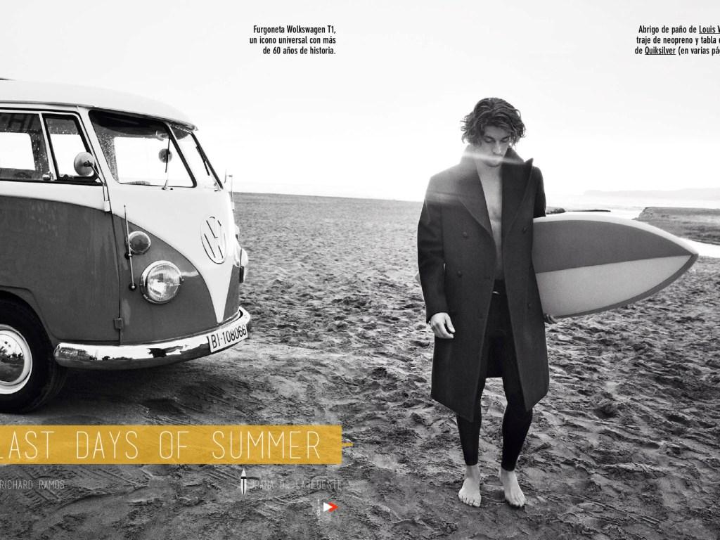 """GQ Spain September 2014 """"last days of summer"""""""