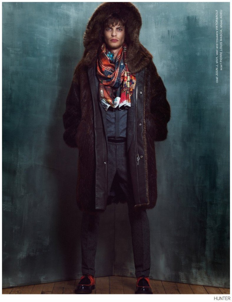 Baptiste Radufe by Paul Morel for Hunter Magazine
