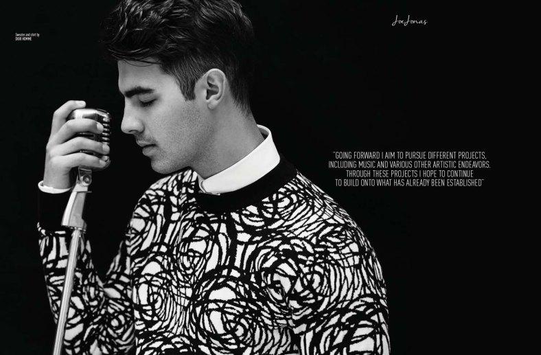 Joe Jonas for August Man Malaysia by Karl Simone