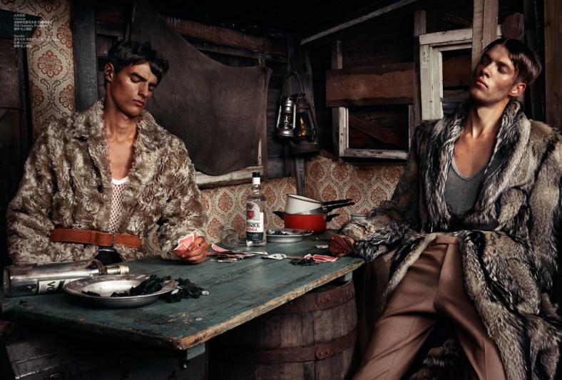 'MOTHERLAND' Ph: Thomas Cooksey Styling: Luke Day Hair: Ben Jones Grooming: Elias Hove