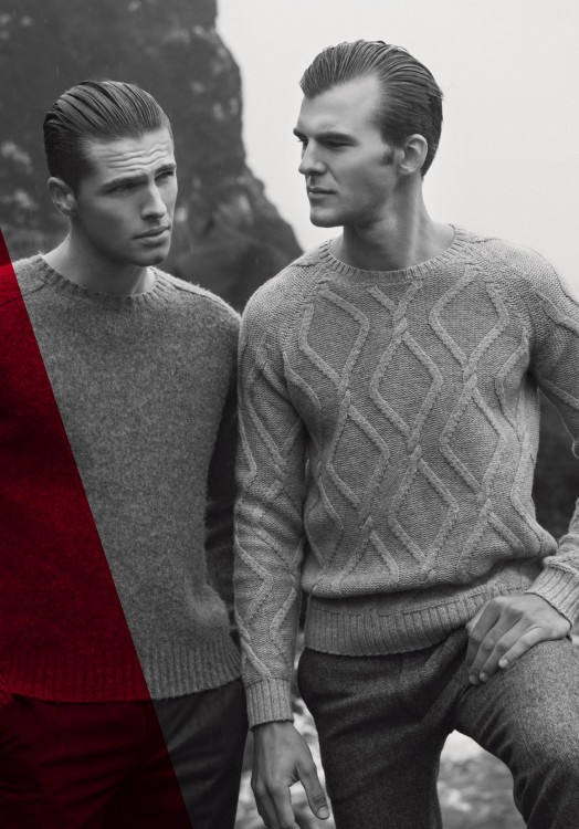Edward Wilding & Patrick Kafka by Rickard Sund for Kult Magazine.