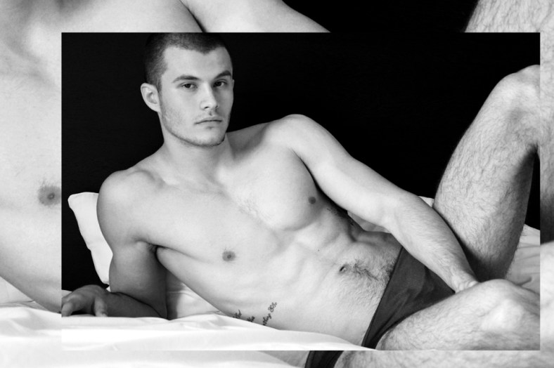 The new boys from Budapest shot by Laurent Machet the beautiful models are Mate from Visage Models and Toni & Agoston from WAM models.