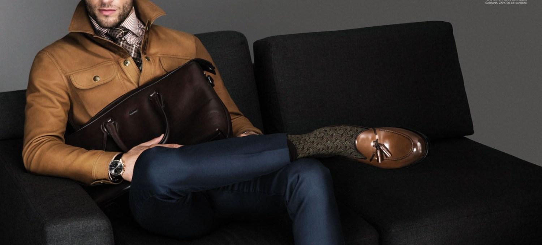 Photographer: An Le Stylist: Christopher Campbell / Atelier Management Art Director: John Paul Tran Hair: Riad Azar / Atelier Management Make Up: Gregg Hubbard / BA Reps Model: Kevin Sampaio / Wilhelmina Models