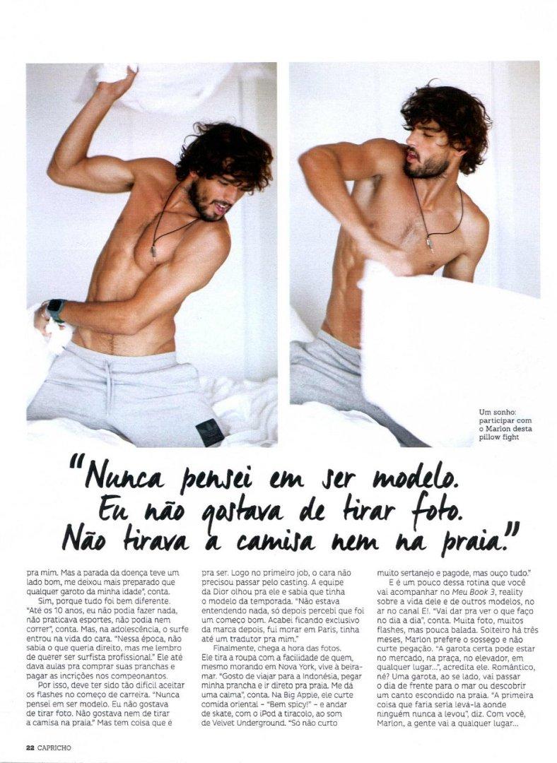 Marlon Teixeira for Capricho Magazine November 2014