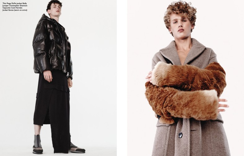 Exit Magazine Fall / Winter 2014.15 'WHO'S YOUR DADDY' Ph: Joachim Mueller-Ruchholtz Styling: Jason Hughes