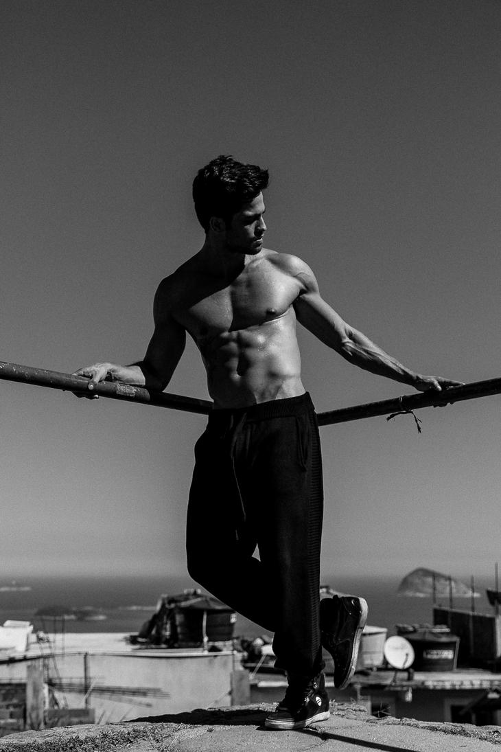 Favela do Vidigal shoot by Jeff Segenreich