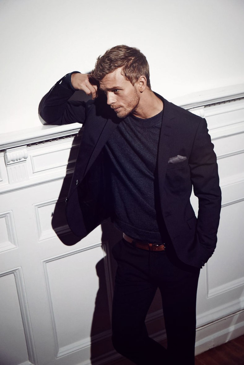 Top model Benjamin Eidem stars new ads for online fashion retailer NLYMAN